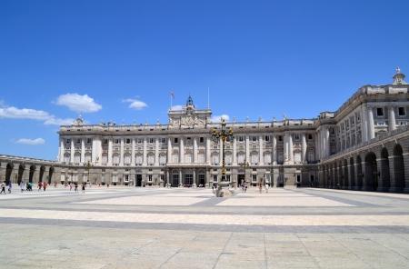 スペイン、マドリッドの王宮