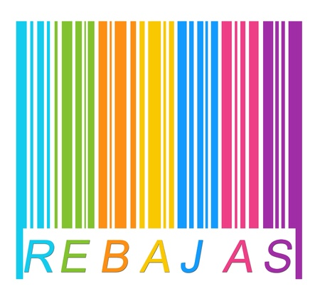 Label colors Promotion and Discount (Rebajas in spanish)