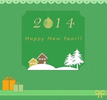 Funny Happy New Year card photo