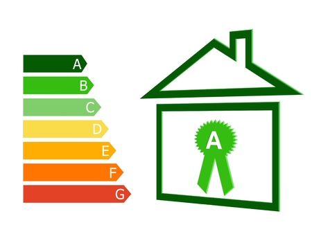 category: Energy efficiency in buildings with the symbol of a house