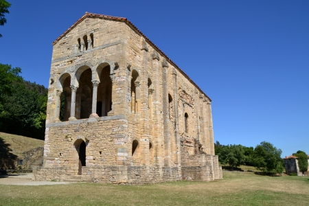 Church of Santa Maria del Naranco, Oviedo - Asturias, Spain