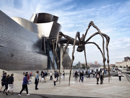 museums: The Guggenheim Museum in Bilbao, Spain