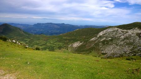 picos: Picos de Europa National Park in Asturias, Spain Stock Photo