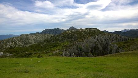 europa: Landscape of Picos de Europa National Park in Asturias, Spain