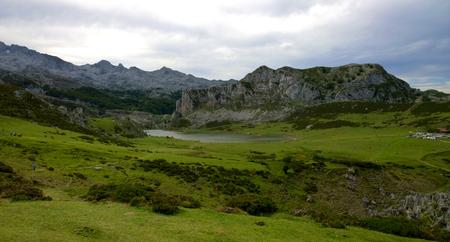 europa: Picos de Europa National Park in Asturias, Spain Stock Photo