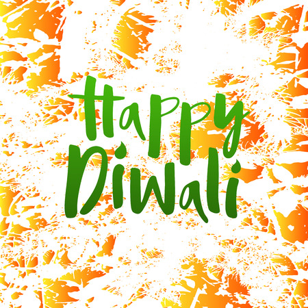 Vector illustration of happy diwali for poster, invitation, flyer, banner, postcard, greeting card.