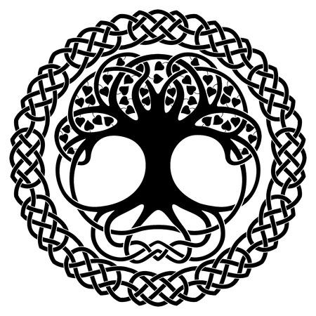 Celtic nationalen Ornamenten. Standard-Bild - 69777434