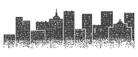 Big modern city Illustration