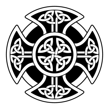 symbols: Celtic national ornaments.