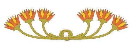 Egyptian national ornament.
