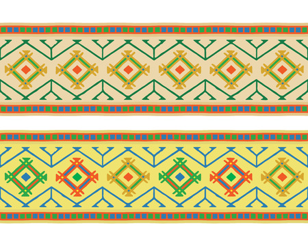 southamerica: Indian national ornament Illustration