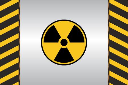 chemical weapon symbol: Warning Hazard Signs Illustration
