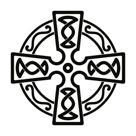 Keltische nationale ornamenten.