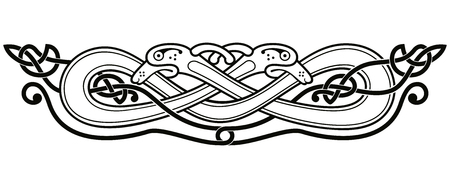 Celtic national drawing.