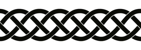 ornements nationaux celtiques.
