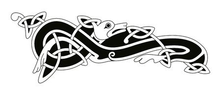 disegno nazionale celtica.
