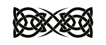 Celtic nationalen Ornamenten.