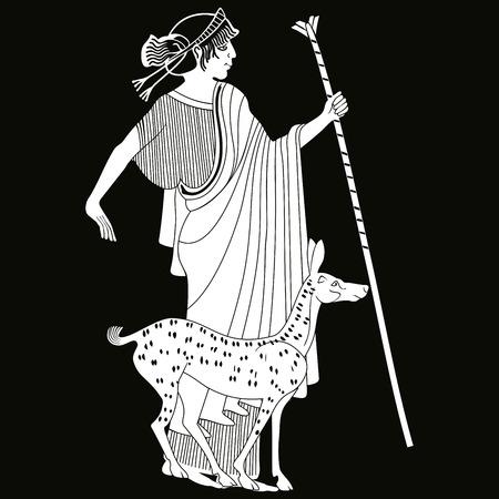 Vector de dibujo griego. Foto de archivo - 85341285