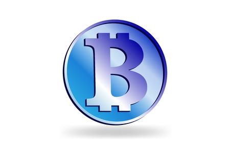 Bitcoin and World map