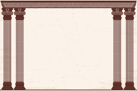 Ancient Greek background. Stock Illustratie