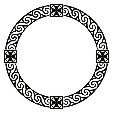 Celtic national ornament vector illustration