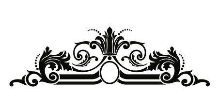 Vintage vectorial renaissance pattern.
