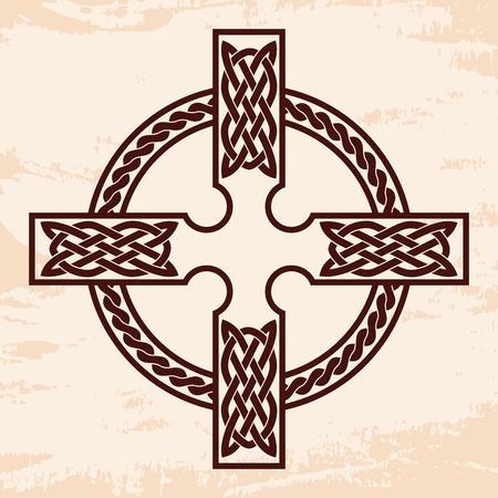 Celtic national cross. Stock Photo