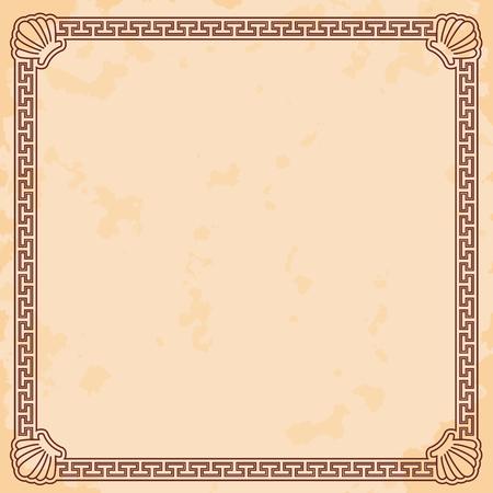 Ancient Greek background.