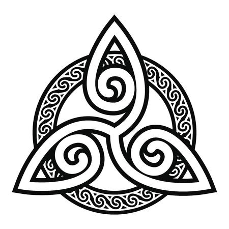 Keltische Nationalverzierung.