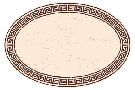 Ancient Greek frame.