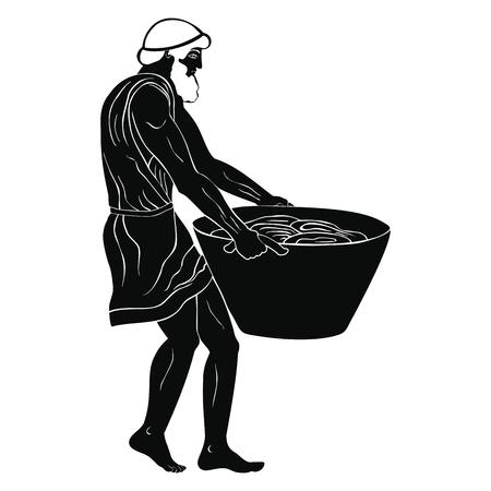 Ancient Greek slave.