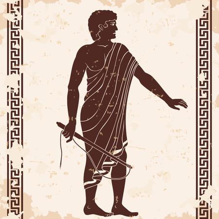 Ancient Greek men.