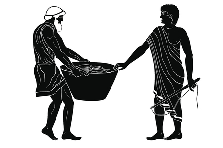 Master and slave. Reklamní fotografie