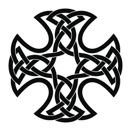 Celtic national cross. 写真素材