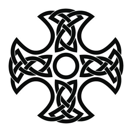 Celtic national cross.  イラスト・ベクター素材