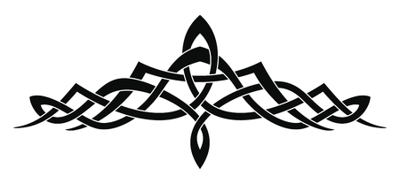 Celtic national ornament.
