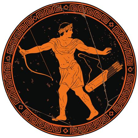 Starożytny grecki wojownik.