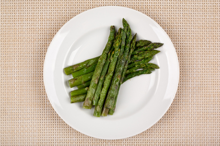 Food in the plate. Reklamní fotografie - 123970941