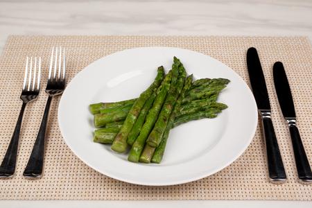 Food in the plate. Reklamní fotografie - 123970946