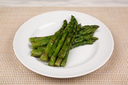 Food in the plate. Reklamní fotografie - 123970947