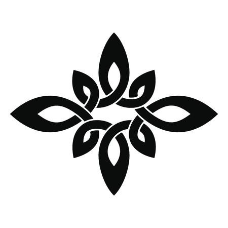 Celtic national ornament. Reklamní fotografie - 123970894