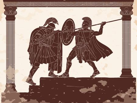 Two Roman legioner.