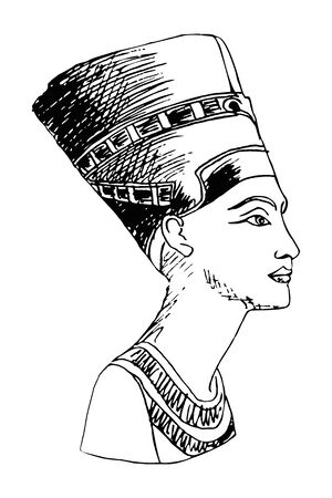 Egyptian Queen Nefertiti.