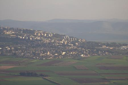 Upper Afula in the Lower Galilee, Israel