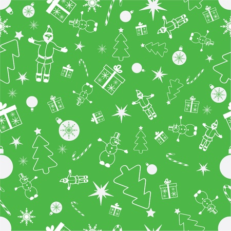 festival moment:  seamless christmas background. Christmas pattern Illustration