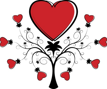 synopsis: Valentine element  for design