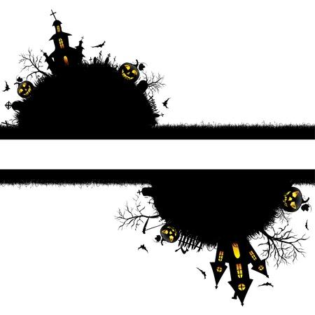 churchyard: Halloween  background
