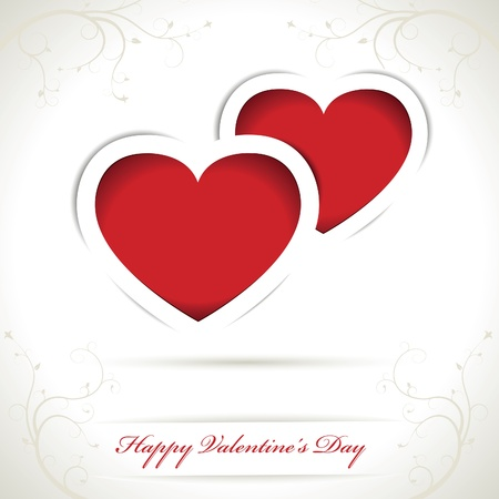 Vector Valentines day card Stock Vector - 16327286
