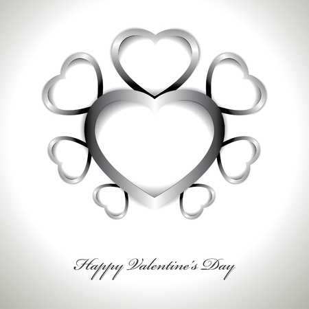 Vector Valentines day card Stock Vector - 16327250
