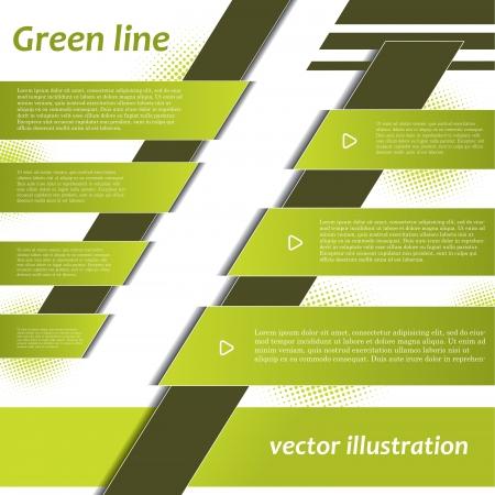 presentation folder: Modern design background for business  Vector illustration template